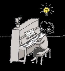 Üben - wie kann ich es mir leichter machen, Klavier üben
