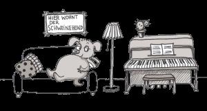 Klavier üben - Grundsätze, Schweinehund